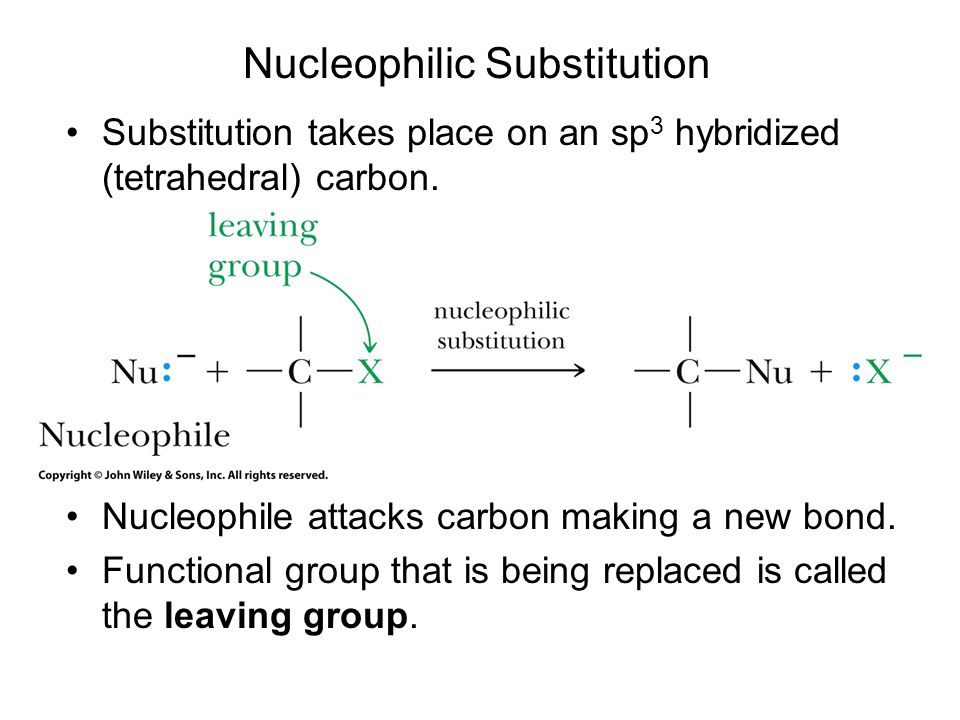 nucleophilic substitution at the carbonyl carbon Chapters of this step-by-step guide cover: nucleophilic addition to the carbonyl  group nucleophilic substitution nucleophilic substitution at the carbonyl group.