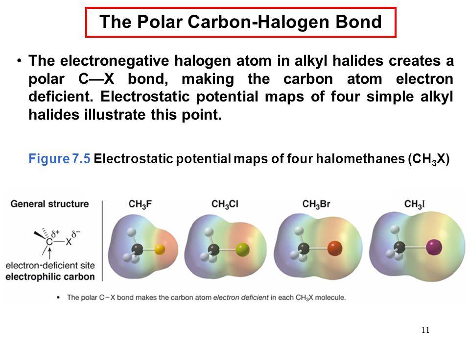 The Polar Carbon-Halogen Bond