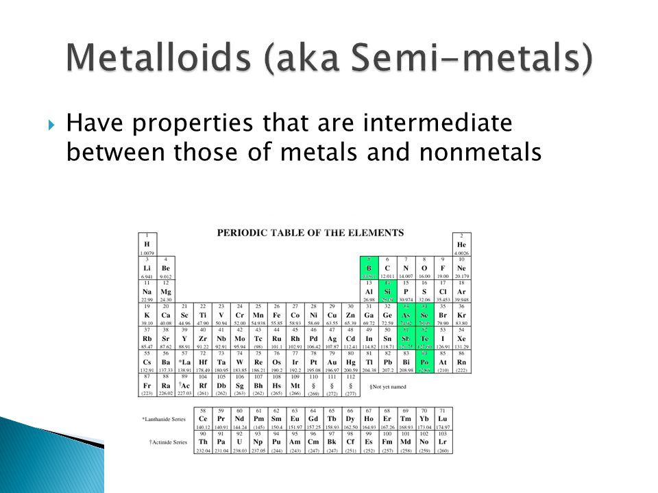 Periodic Properties of the Elements - ppt download