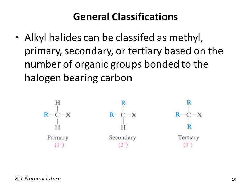 General Classifications