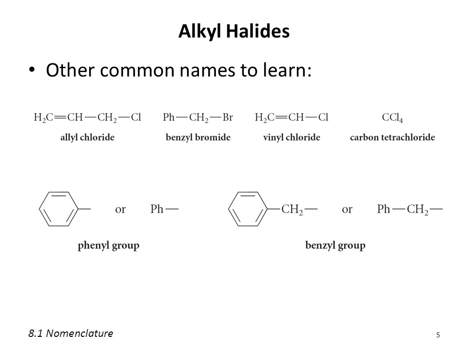 Other common names to learn: