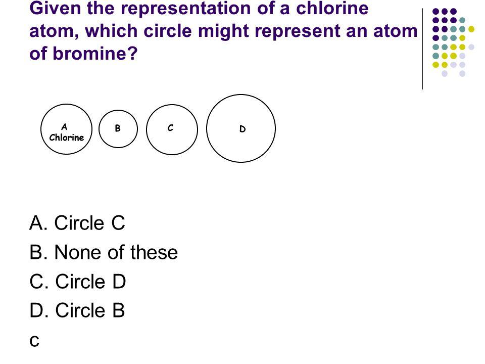 A. Circle C B. None of these C. Circle D D. Circle B c