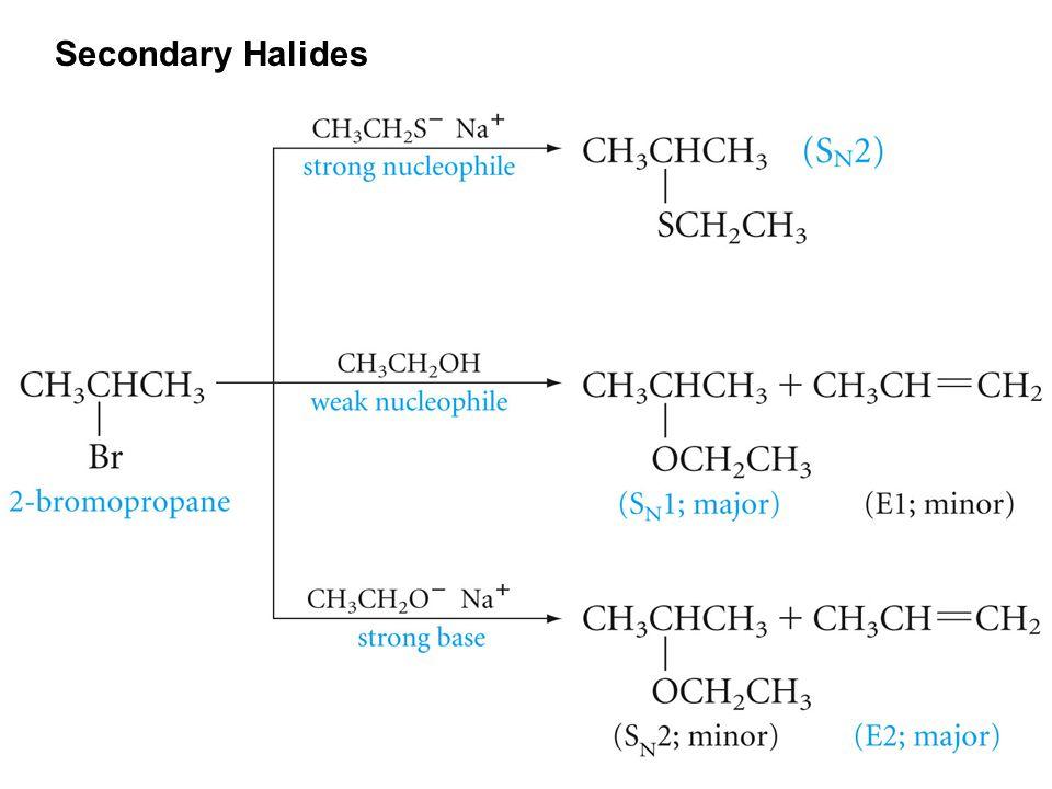 Secondary Halides