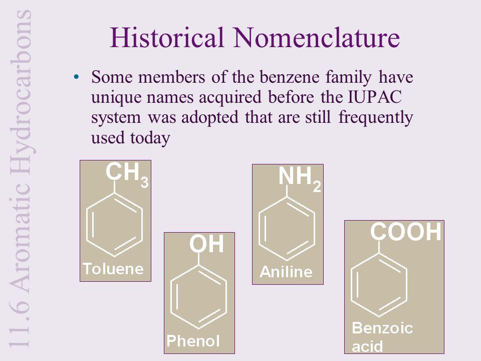 Historical Nomenclature
