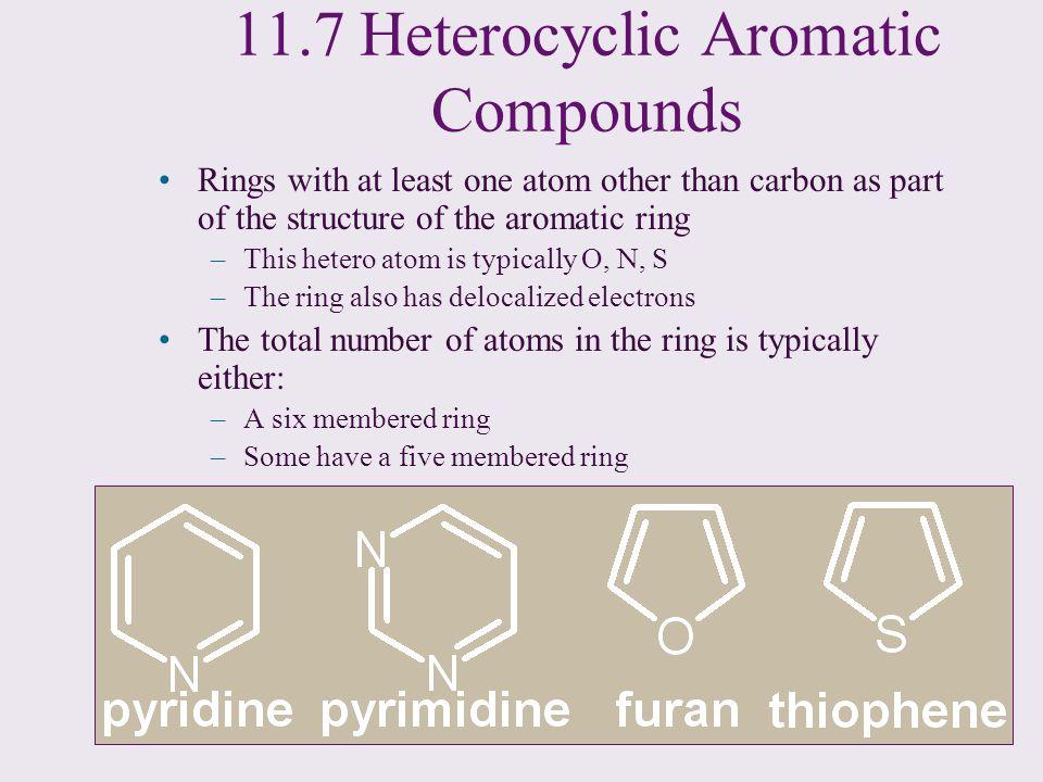 11.7 Heterocyclic Aromatic Compounds
