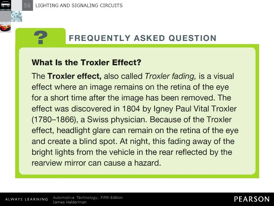 FREQUENTLY ASKED QUESTION: What Is the Troxler Effect