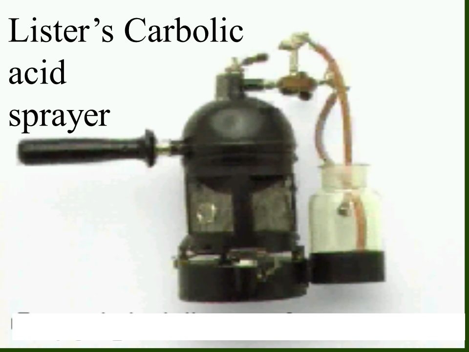 Lister's Carbolic acid