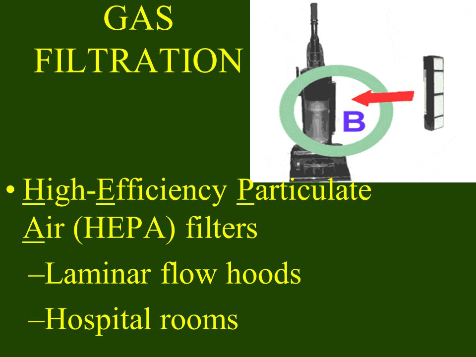 GAS FILTRATION High-Efficiency Particulate Air (HEPA) filters