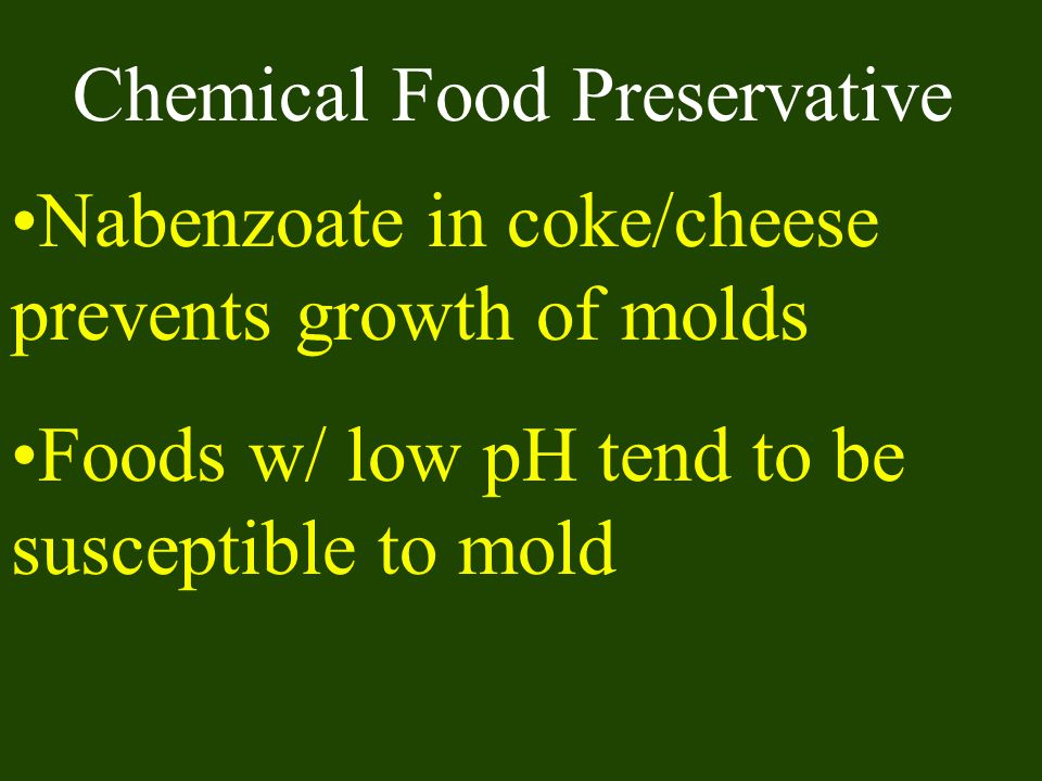 Chemical Food Preservative