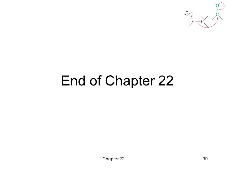 End of Chapter 22 Chapter 22