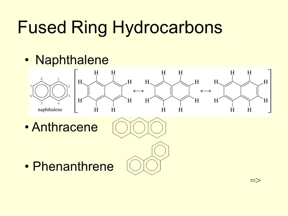 Fused Ring Hydrocarbons