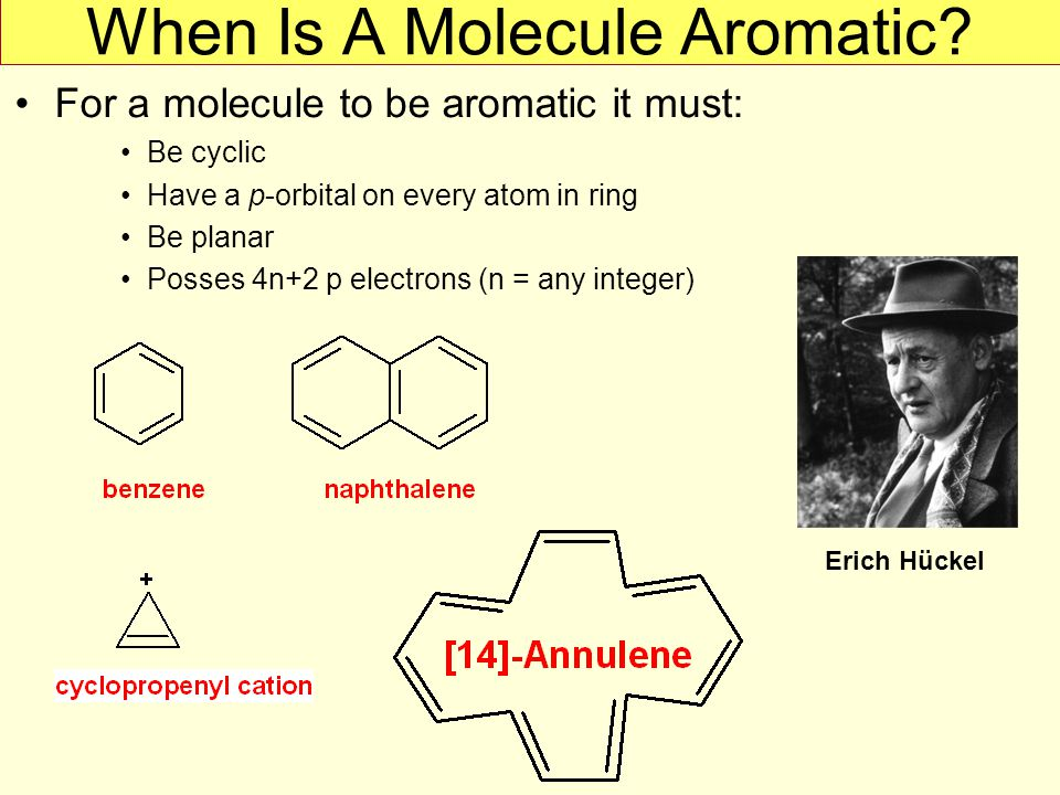 When Is A Molecule Aromatic