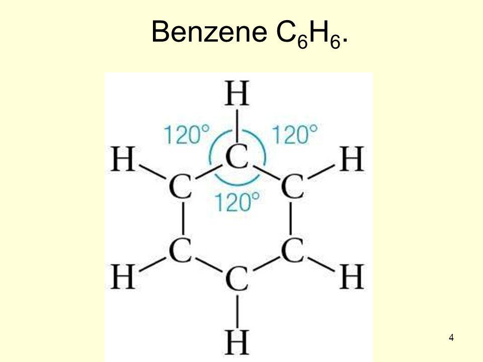Benzene C6H6. 4
