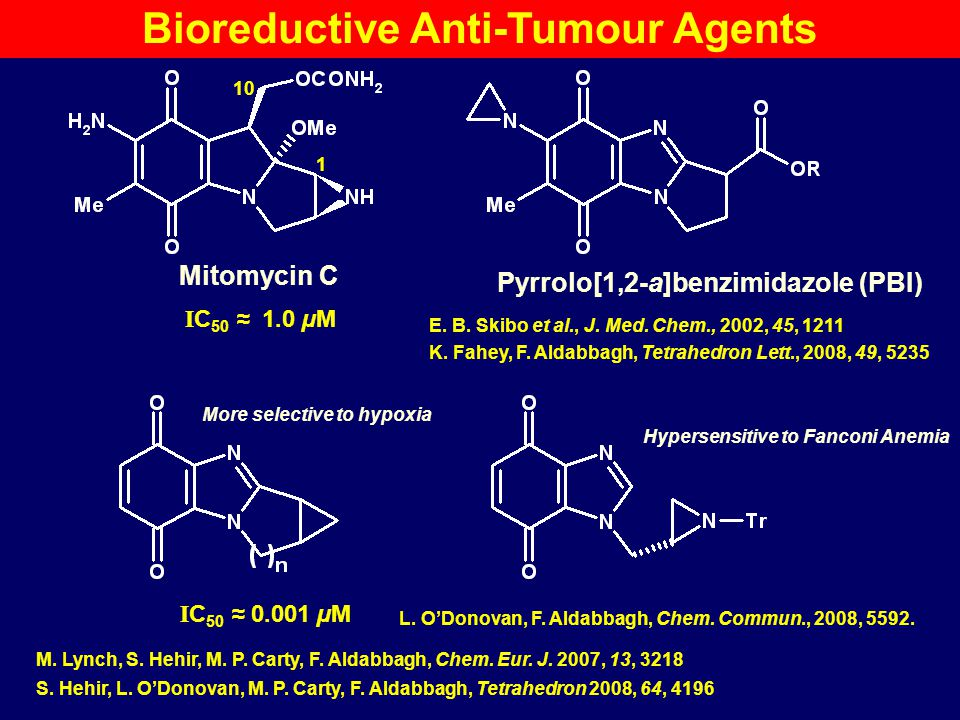 Bioreductive Anti-Tumour Agents