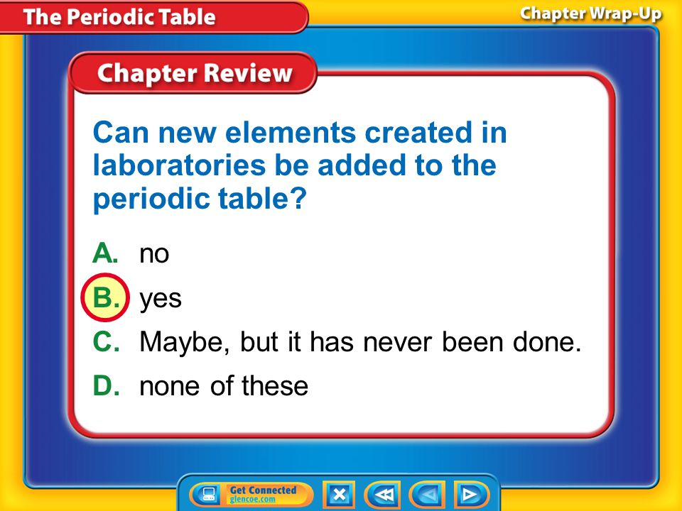 Can new elements created in laboratories be added to the periodic table