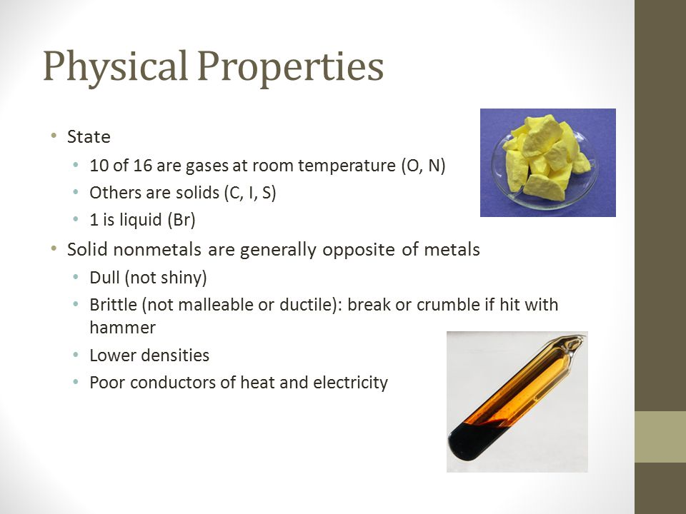 Physical Properties State