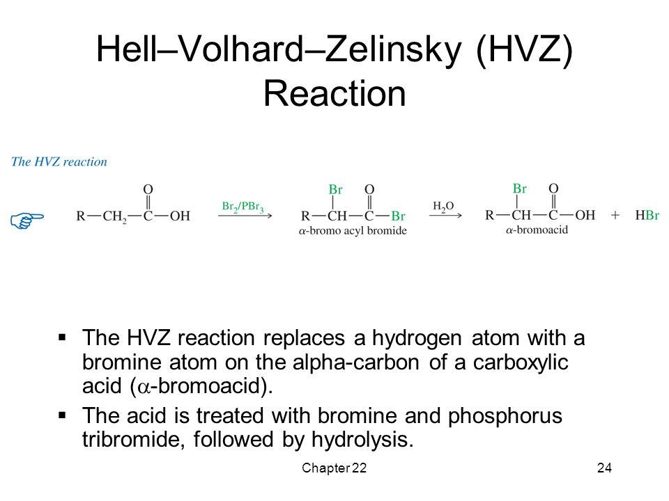 Hell–Volhard–Zelinsky (HVZ) Reaction