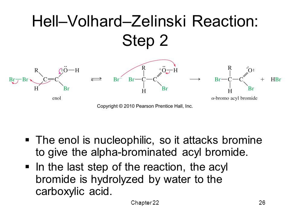 Hell–Volhard–Zelinski Reaction: Step 2