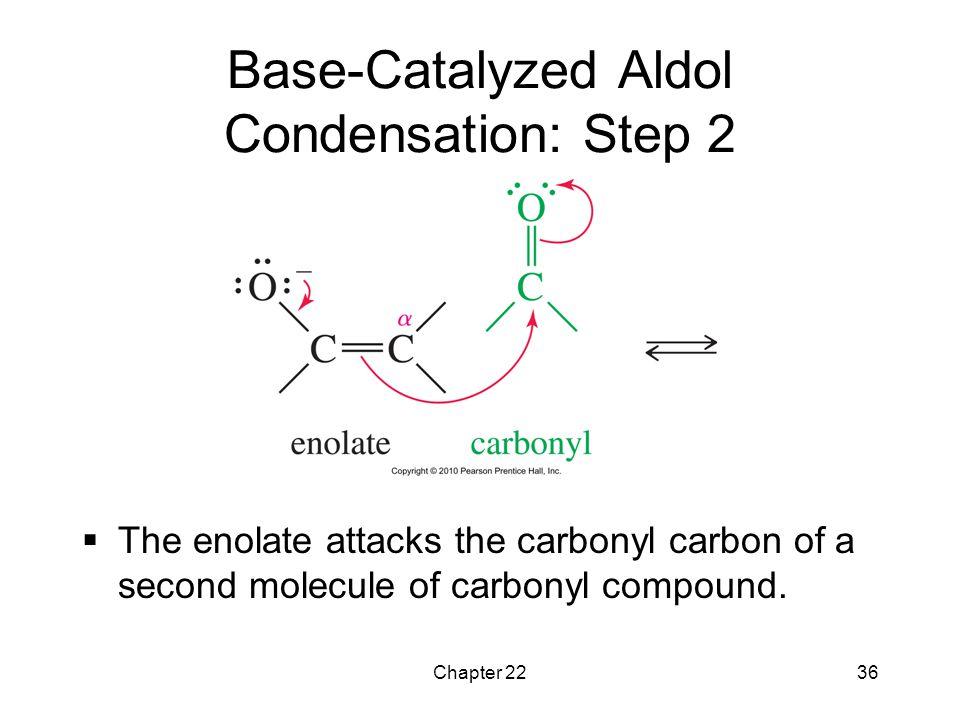 Base-Catalyzed Aldol Condensation: Step 2