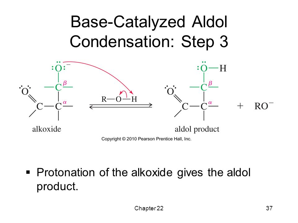Base-Catalyzed Aldol Condensation: Step 3