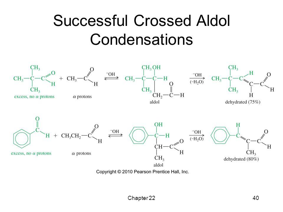 Successful Crossed Aldol Condensations