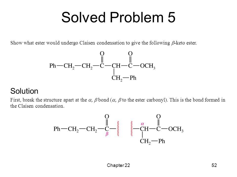 Solved Problem 5 Solution