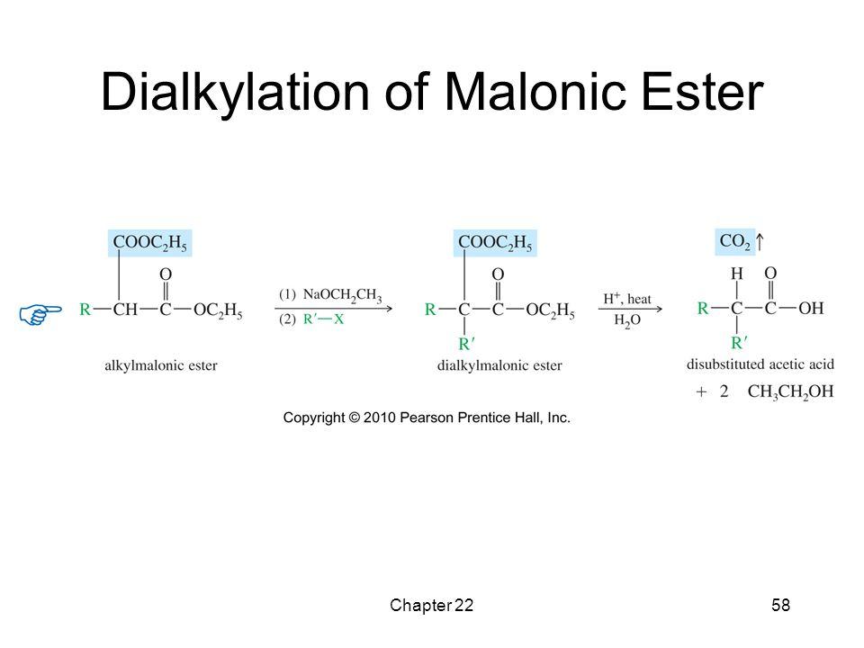 Dialkylation of Malonic Ester
