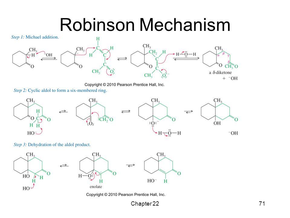 Robinson Mechanism Chapter 22