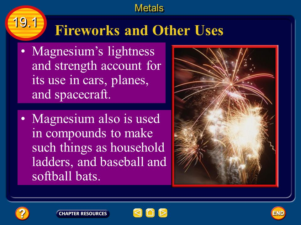 Fireworks and Other Uses