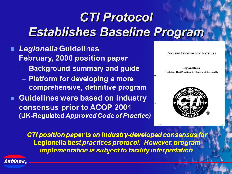 CTI Protocol Establishes Baseline Program