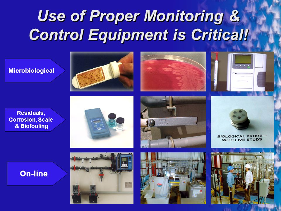 Use of Proper Monitoring & Control Equipment is Critical!