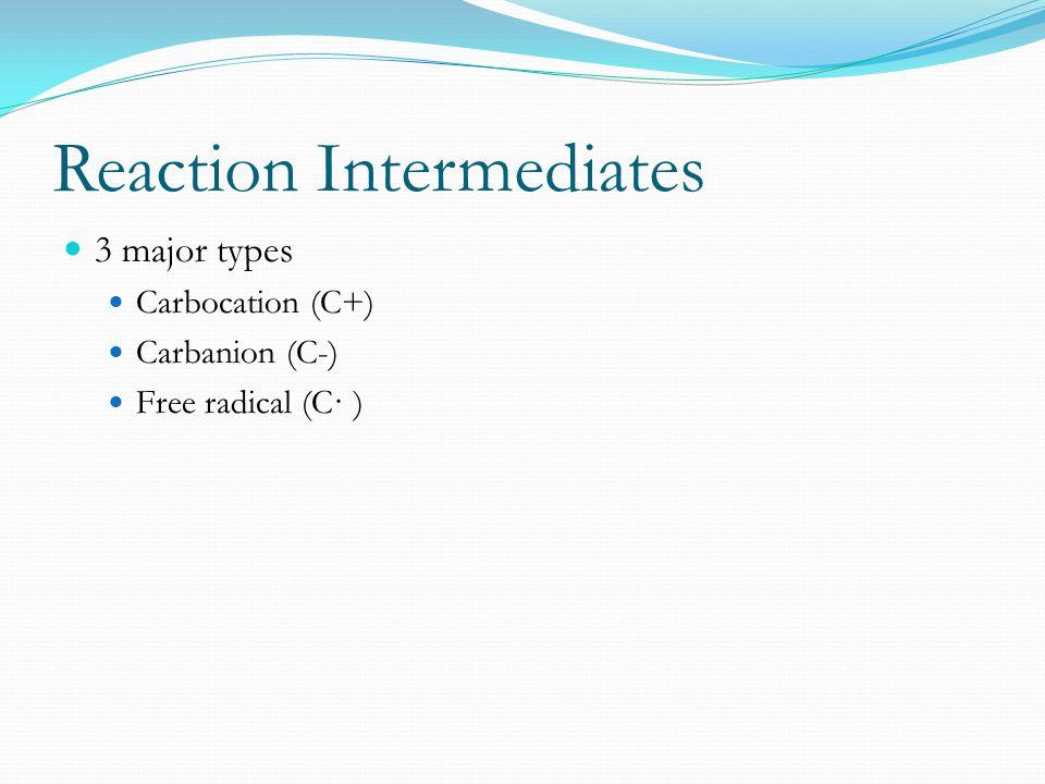 Reaction Intermediates