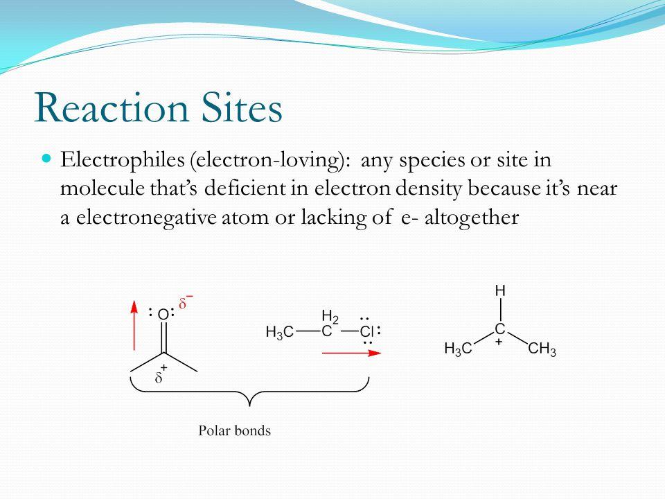 Reaction Sites