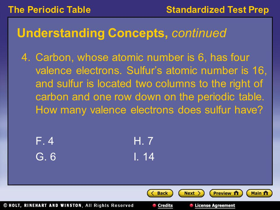 The periodic table preview understanding concepts reading skills 8 understanding concepts urtaz Image collections