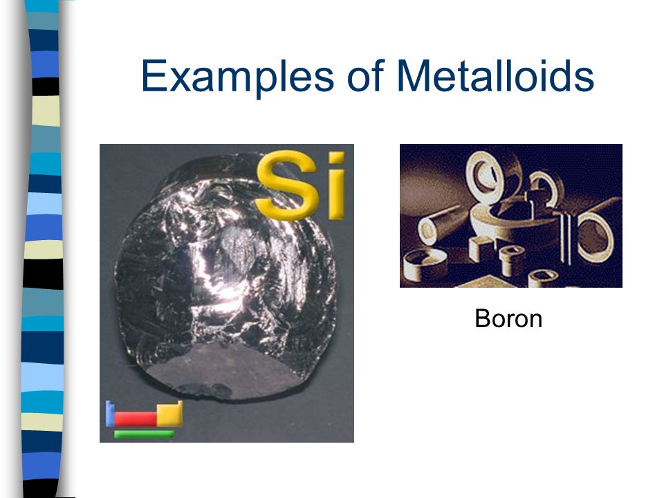 Examples of Metalloids