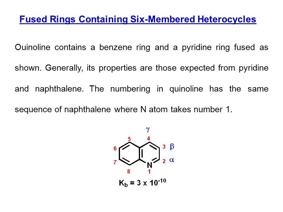 Fused Rings Containing Six-Membered Heterocycles