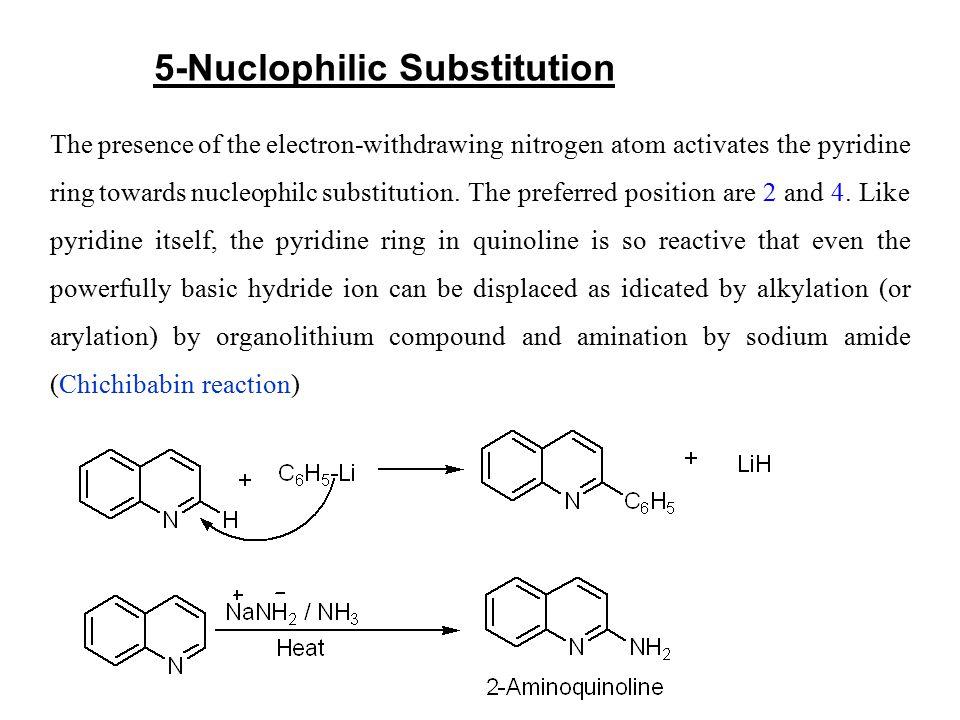 5-Nuclophilic Substitution