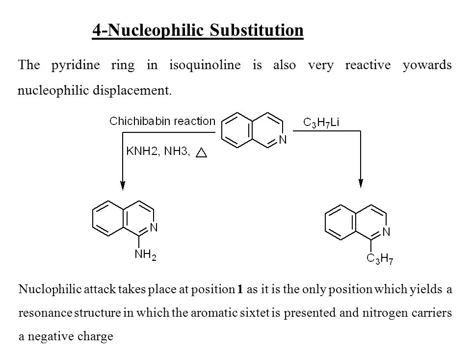 4-Nucleophilic Substitution