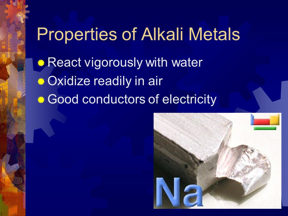 Properties of Alkali Metals