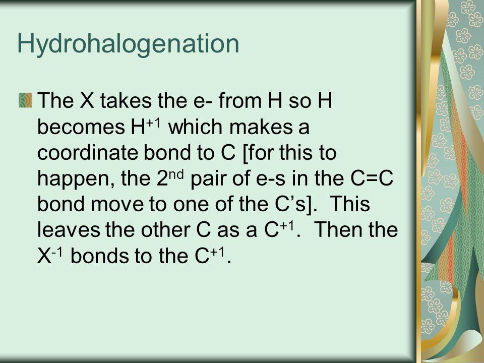 Hydrohalogenation