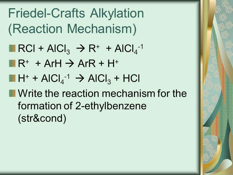 Friedel-Crafts Alkylation (Reaction Mechanism)