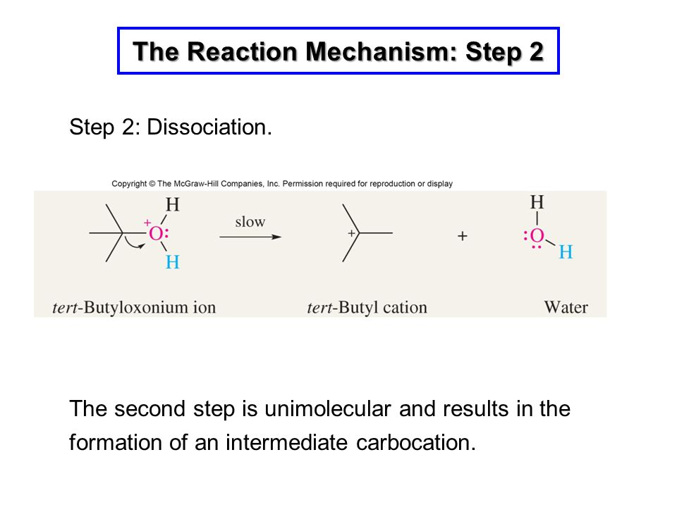 The Reaction Mechanism: Step 2