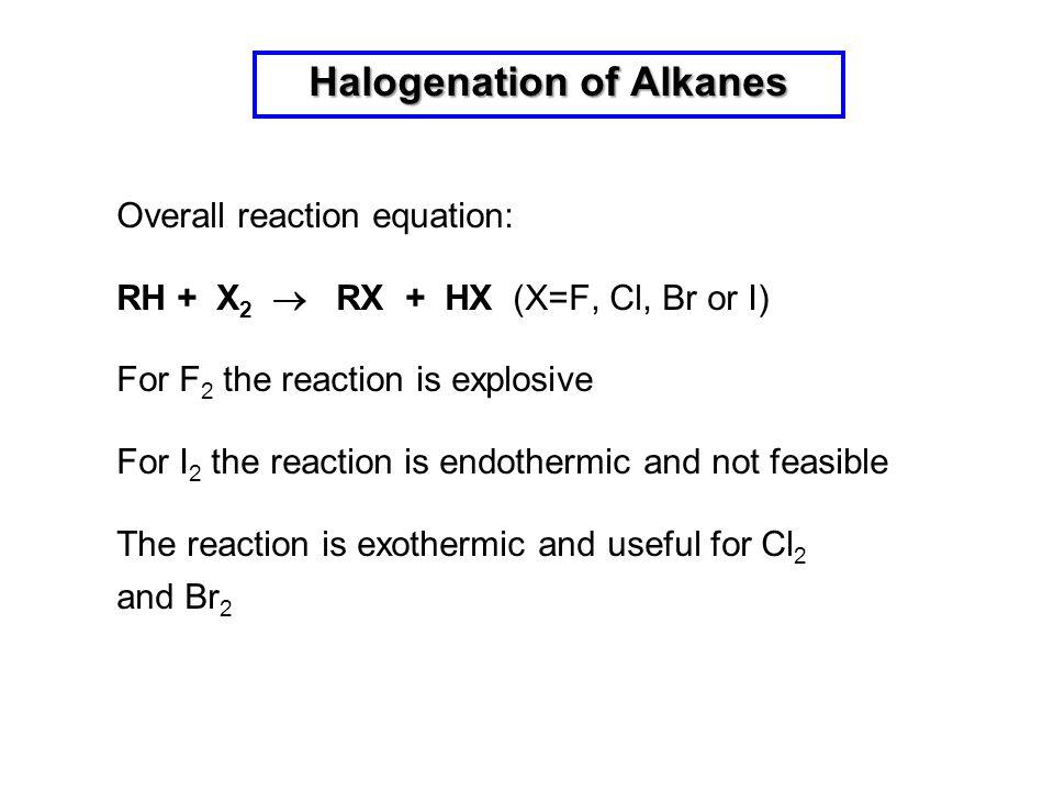 Halogenation of Alkanes