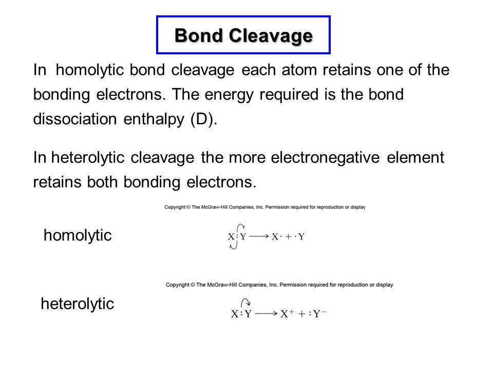 Bond Cleavage