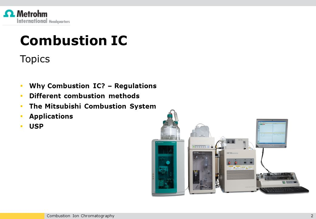 Combustion IC Topics Why Combustion IC – Regulations