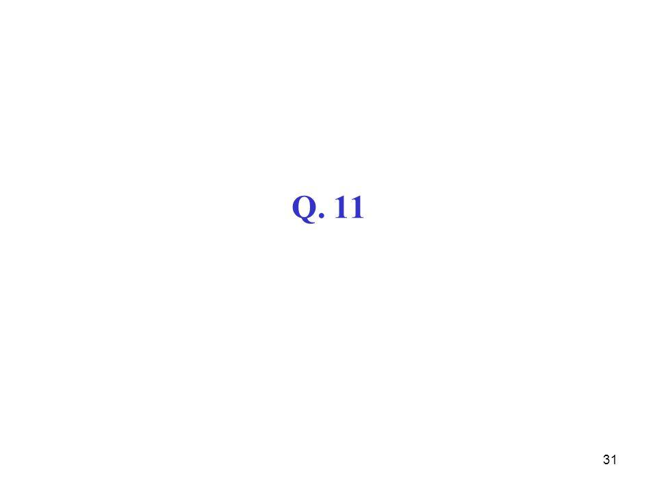 Q. 11
