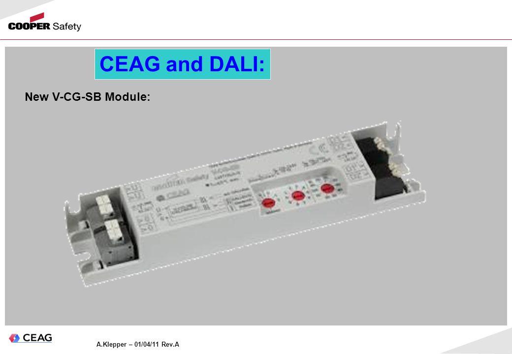 CEAG and DALI: New V-CG-SB Module: