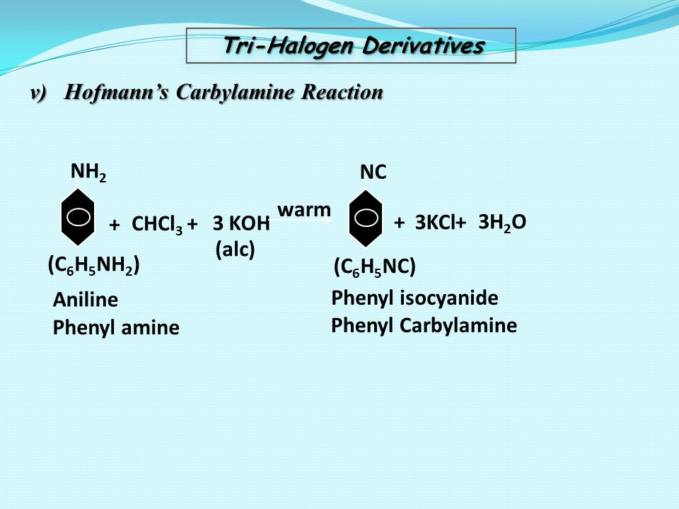 Tri-Halogen Derivatives