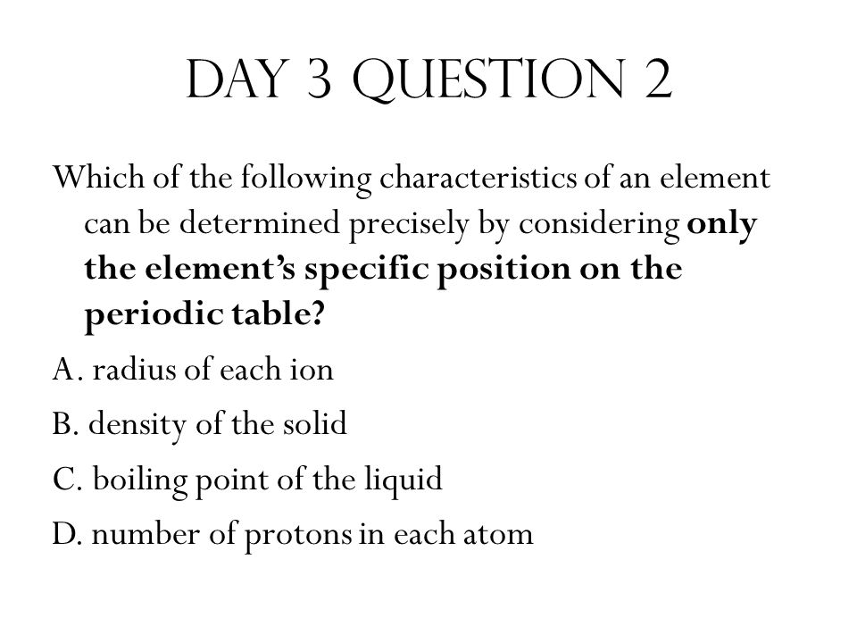Take 10 week 14 sps 4 periodic table ppt video online download day 3 question 2 urtaz Choice Image