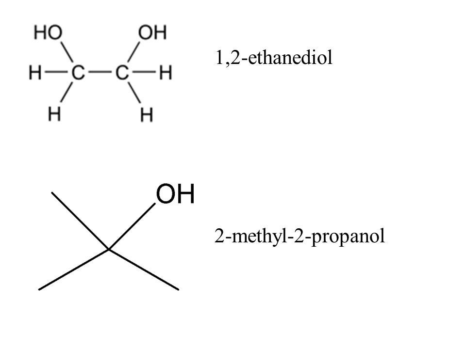 1,2-ethanediol 2-methyl-2-propanol